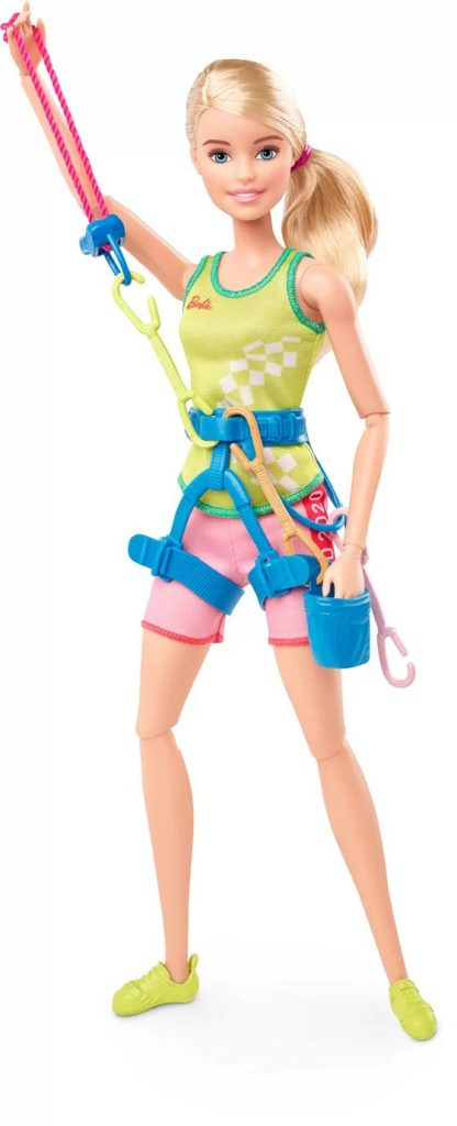Climbing Barbie