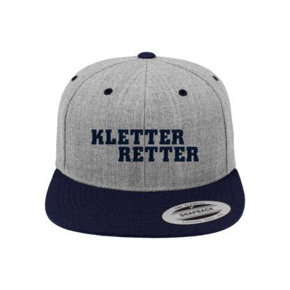 KletterRetter Kappe Grau/Navy