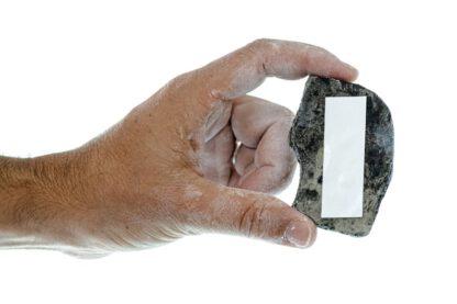 Single key holder with tape mount